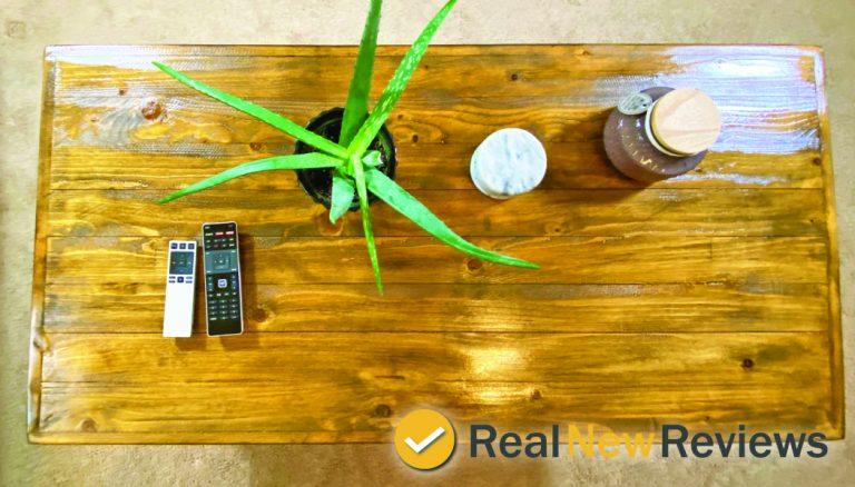 Mid Century Modern Coffee Table Wood Top