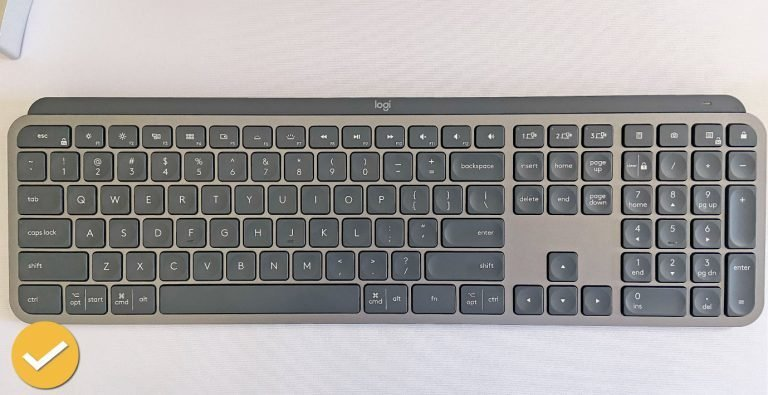Logitech MX Keys Review Full Size Wireless Keyboard