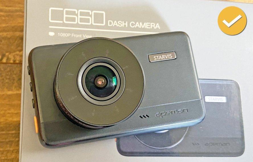 Apeman C660 Dash Cam